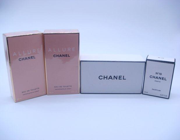 シャネル アリュールと19番の香水