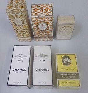 ニナリッチ、マダムロシャス、ミスディオール、シャネルの香水