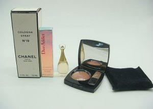 シャネル、ディオールのコスメ、香水