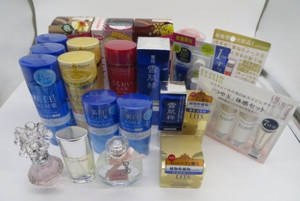 アクアレーベル、KOSE、資生堂等のコスメ、香水とスキンケア