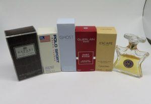 サファリ、ポロ、ゲラン等の香水