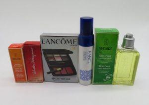 ランコム、フェラガモ、ロクシタンとファンケル等 のコスメ、スキンケアと香水