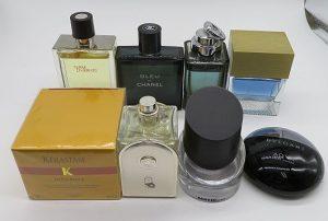 ジルサンダー、ブルガリ、グッチ、エルメス等の香水とヘアケア