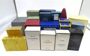 ブルガリ、シャネル、ボス、グッチなどの香水
