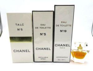 シャネル、ランコムの香水