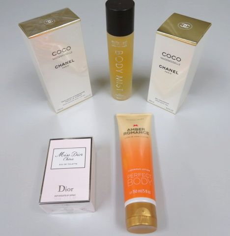 ヴィクトリアシークレット、Millefiori、ディオール、シャネルのスキンケアや香水