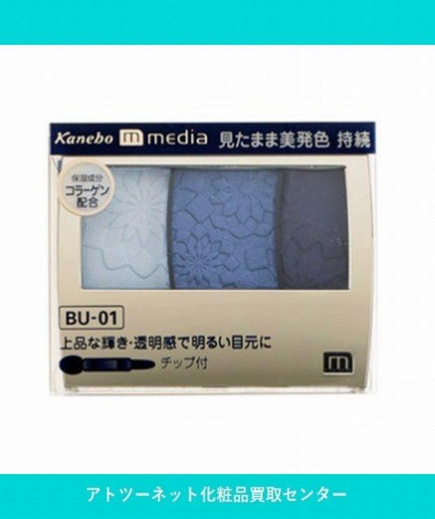 カネボウ化粧品(Kanebo) メディア グラデカラーアイシャドウ BU-01 MEDIA GRADATE COLOR EYESHADOW BU-01 3.5g