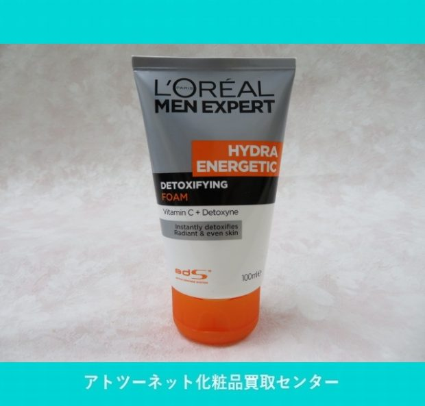 ロレアル(L`oreal) Men Expert Hydra Energetic Detoxifying Foam 100ml