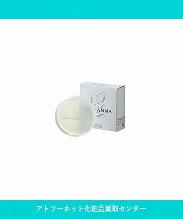 マリアンナ(MARIANNA) ナノキューブ せっけん 洗顔石鹸(枠練り) Soap with NANOCUBE 80g