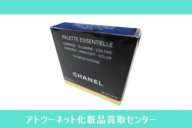シャネル(CHANEL) パレット エサンシエル 170 ベージュ アンタンス PALETTE ESSENTIELLE CORRIGE ILLUMINE COLORE CONCEAL HIGHLIGHT COLOR 170 BEIGE INTENSE