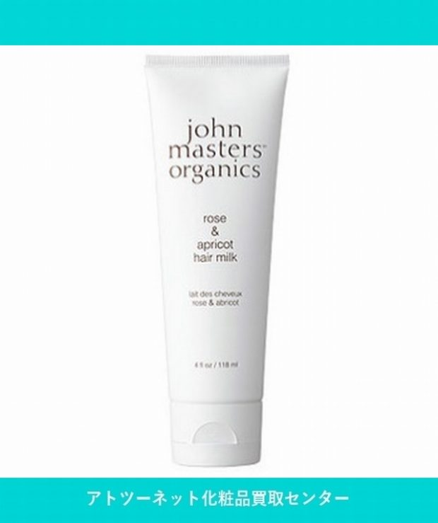 ジョンマスター(john masters) R&A ヘアミルク 118ml organics rose&apricot hair milk 118ml