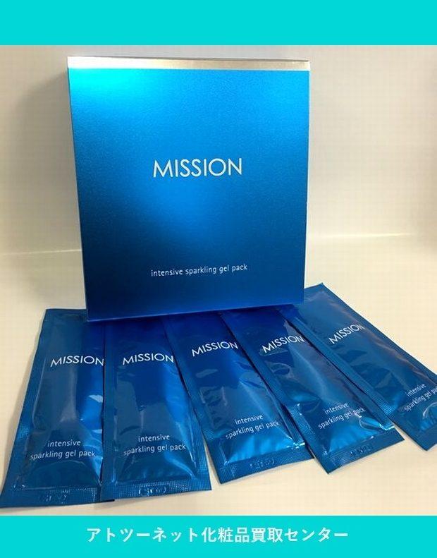 ミッション(mission) インテンシブ スパークリング ジェルパック intensive sparkling gel pack